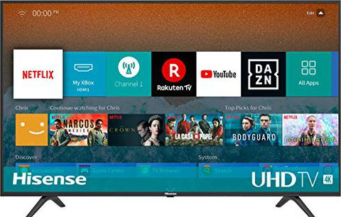 HISENSE H43BE7000 TV LED Ultra HD 4K HDR