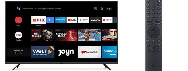 Xiaomi lancia Mi Smart TV: 100 euro di sconto solo per oggi