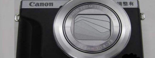 Online le foto della Canon PowerShot G7 X Mark III