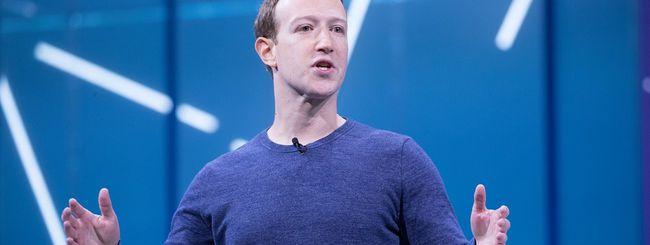Zuckerberg, gli indossabili leggeranno la mente