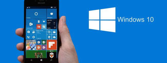Windows 10 Mobile build 10586.71 agli Insider