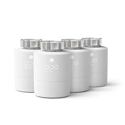 tado° Testa Termostatica Intelligente, Quattro Pack, Prodotto Aggiuntivo per il Controllo Multi-Stanza, Installazione Fai da Te, Progettato in Germania