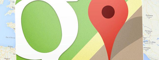 Il nuovo Google Maps, per tutti