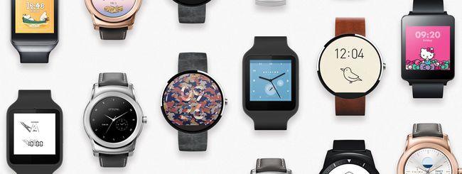 Da Google 17 nuove watchface per Android Wear
