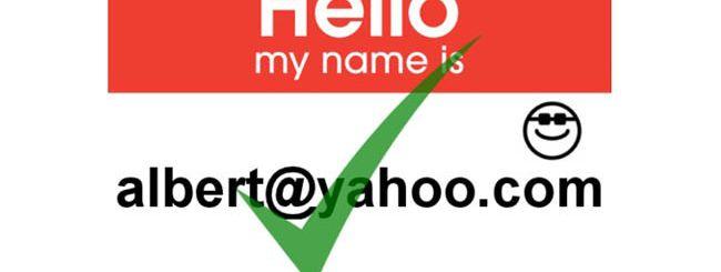 Yahoo Mail: wishlist degli account più desiderati
