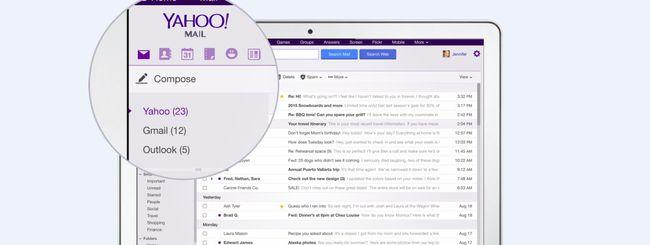 Yahoo Mail supporta anche gli account Gmail