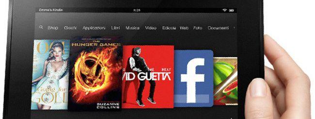 Amazon, il Kindle Fire HD raggiunge 170 Paesi