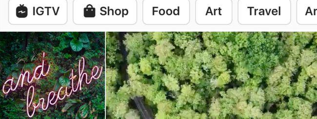 Instagram, nuova sezione Esplora: cosa cambia