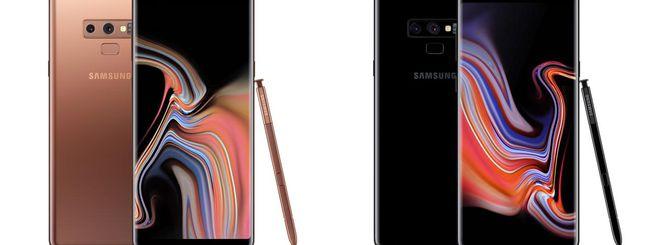 Samsung Galaxy Note 9, prestazioni e autonomia