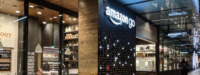 Amazon, negozi senza cassa negli aeroporti