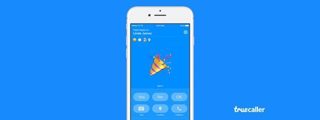 Messaggi flash in Truecaller 7.60 per iOS