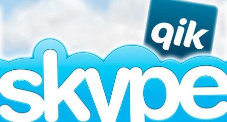 Skype e Qik