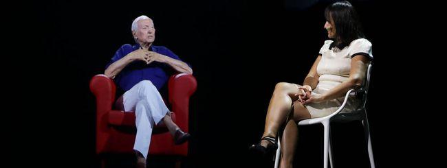 Piero Angela ospite in ologramma grazie al 5G di Vodafone