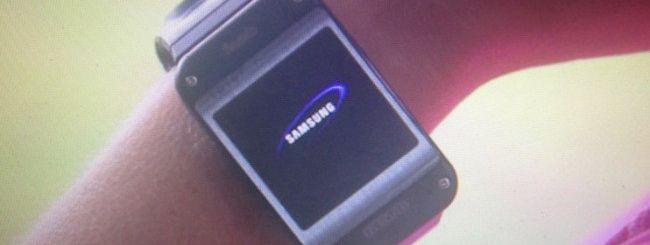 Samsung Galaxy Gear, online le immagini