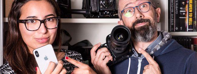 iPhone X vs Nikon D700: chi fotografa meglio?