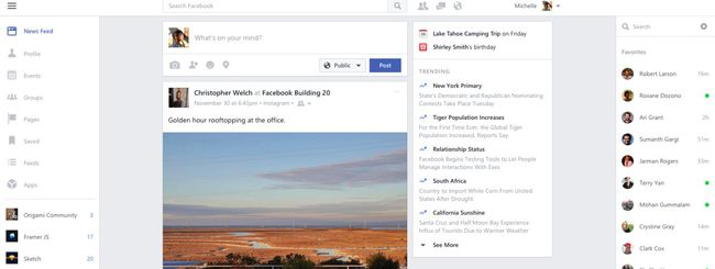Facebook, Messenger e Instagram per Windows 10