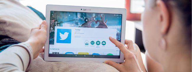 Twitter permette di seguire gli eventi sportivi