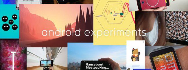 Google mostra gli Android Experiments