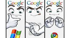 Chrome OS, la vignetta del 2008