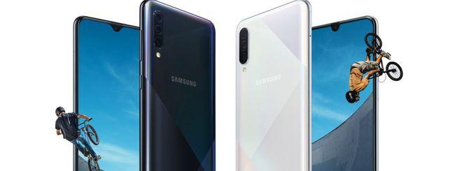 Samsung Galaxy A30s e A50s