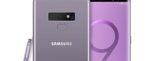 Samsung Galaxy Note 9, design e specifiche