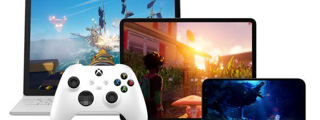 Xbox Cloud Gaming da oggi su PC Win10 e device Apple