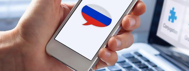 Smartphone russo