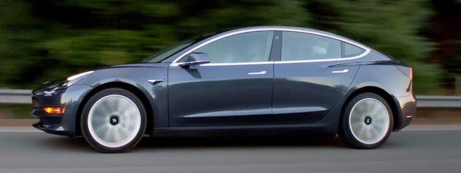 Tesla Model 3 in Europa nella prima metà del 2019