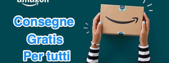 Amazon, consegne gratuite (con codice) fino al 5 dicembre