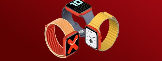 Apple Watch Series 5 Rosso: (PRODUCT)RED in arrivo