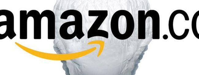 Amore, i pannolini li compreremo su Amazon