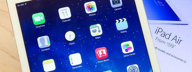 Nuovi modelli di iPad in iOS 7.1
