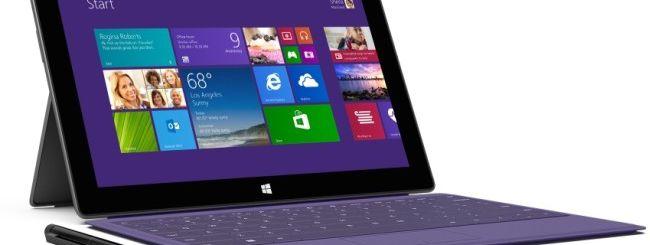 Surface Pro 2, Microsoft aggiorna la CPU