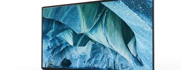 Nella Master Series di Sony entra un TV 8K