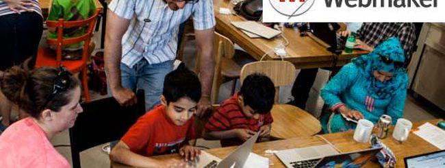 """Mozilla Webmaker, per insegnare a """"fare"""" il Web"""