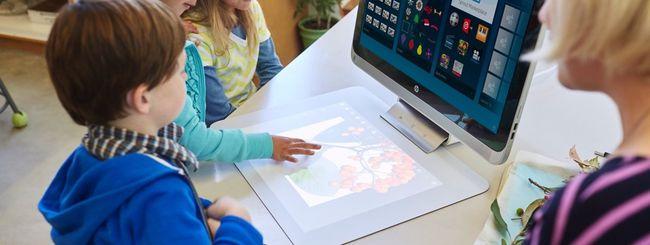 HP Sprout Pro, PC all-in-one per le scuole