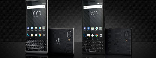 BlackBerry KEY2, dual camera e tastiera QWERTY