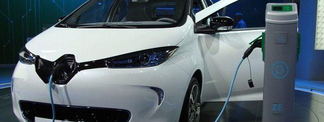Renault Zoe, la prima auto elettrica con i DRM