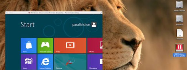 Parallels Desktop ora supporta Mountain Lion e Windows 8 CP