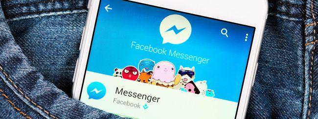 Facebook Messenger, in arrivo la pubblicità