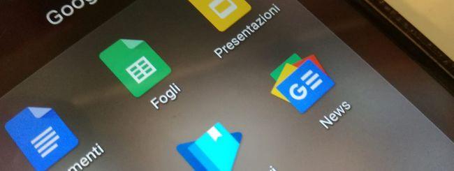 Google Docs, creazione istantanea dei documenti