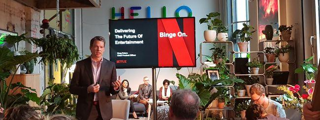 Netflix: italiani, sempre più streaming su Smart TV