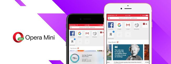 Opera Mini, nuovo design per il browser iOS