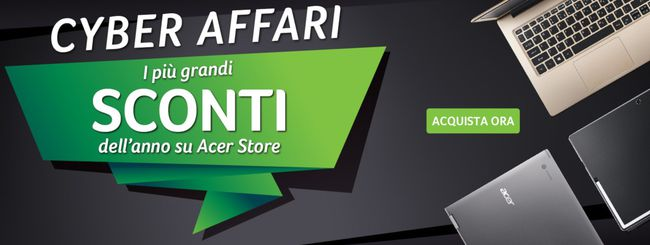 Black Friday Acer: computer in sconto