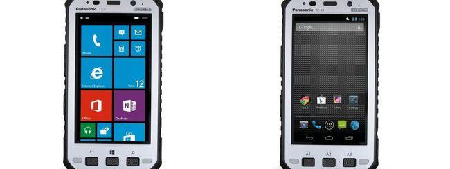 Panasonic Toughpad FZ-E1 e FZ-X1, tablet rugged