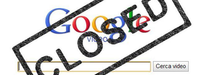 Google Video chiude i battenti