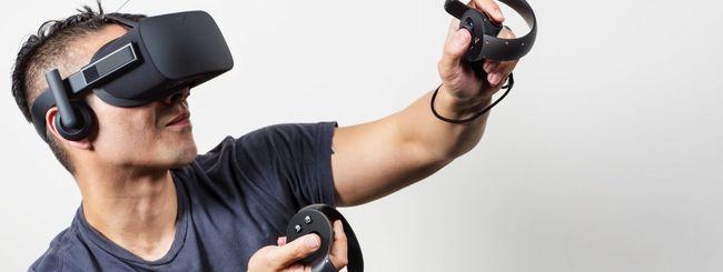 Oculus Rift, versione consumer con Oculus Touch