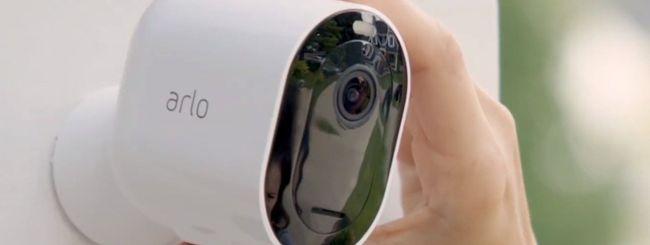Arlo lancia le telecamere Arlo Pro 3