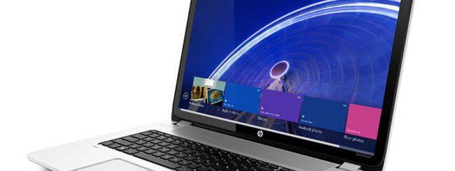 HP, ecco il primo notebook con Leap Motion