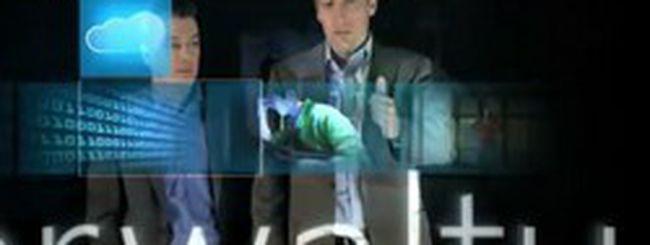 Microsoft realizza uno schermo touch screen da 234 pollici